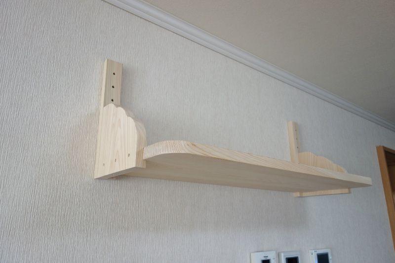 国産ヒノキで作る神棚板+雲形板.jpg