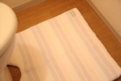 ジェラートピケのトイレマット ゆじゃたんの子育て日記