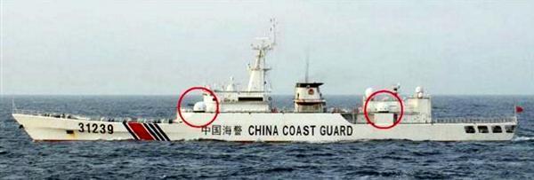 海上保安庁の巡視船が撃沈された...