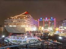 基隆 夜の港