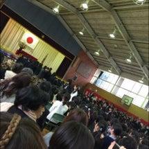 卒業式(´っω・。`…