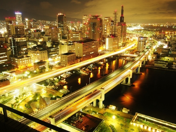 ホテルオークラ神戸 28階からの夜景 | ほっつきぼうず日々是好日