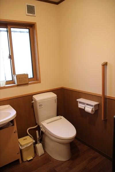 暖かなトイレ