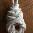 ロープワーク。