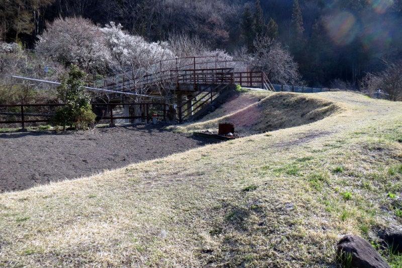 長野原城⑤線路を渡る橋