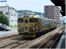 日田駅に留置中のキハ47或る列車