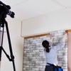 DIY女子部輸入壁紙を貼るの画像