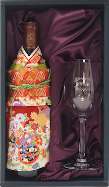 着物ワイン