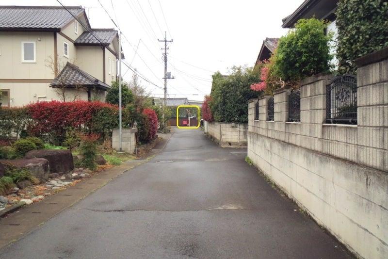 八崎城③説明板から見た城域方向