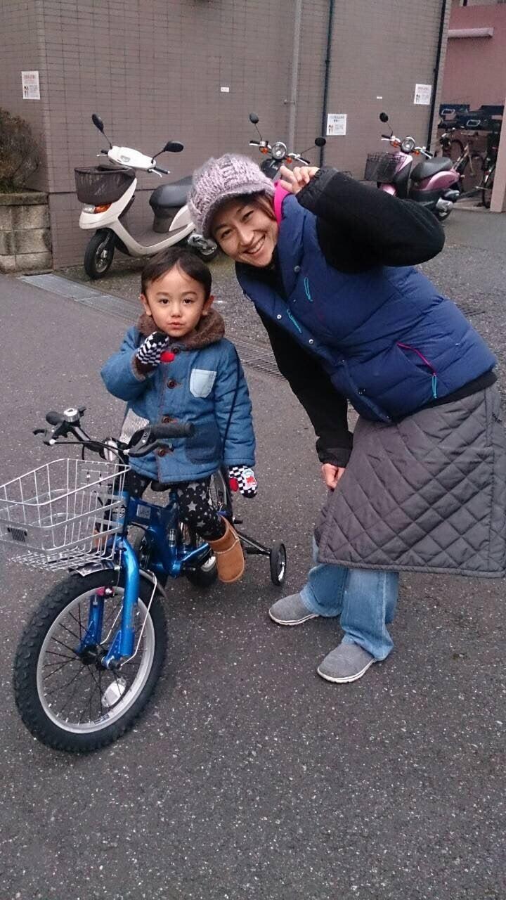 空矢と自転車