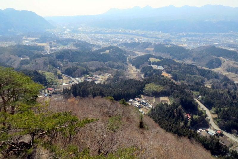 崇山城⑨小天狗からの眺め