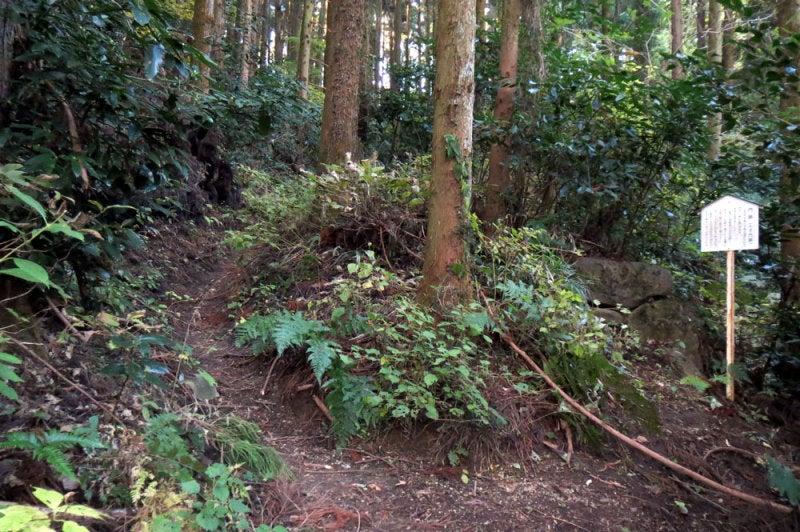 松井田城⑧門跡