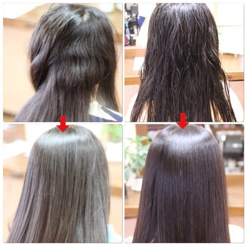 伊丹市、川西市、宝塚市で縮毛矯正をするなら口コミで好評の美容室ヘアーファクトリーレアポエまでお越しください。