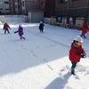 雪遊びしました(*´艸`*)ァハ♪の画像
