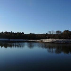 本栖湖で初日の出、浅間神社で初詣の画像
