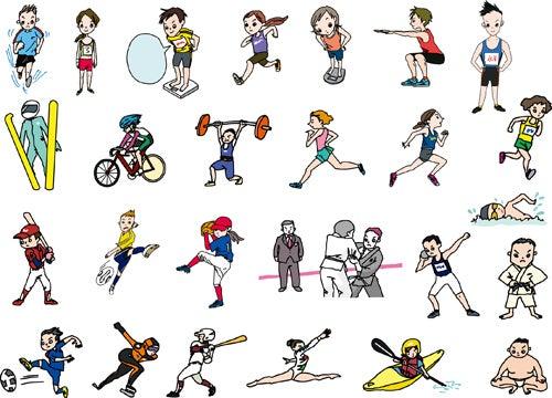 「スポーツ イラスト」の画像検索結果