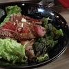 …銀座エイジングビーフステーキ丼ランチ…☆。.:*・゜の画像