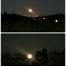 朝と夜の月が綺麗でしたの記事より