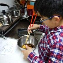 息子っちの手料理