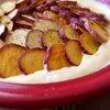 朝からさつまいもの豆乳チーズグラタン♡の画像