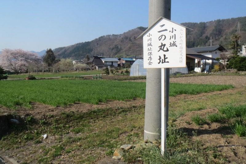 小川城⑧二の丸堀の案内
