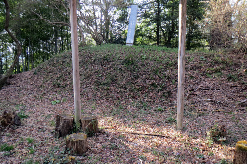 小川城⑤櫓台