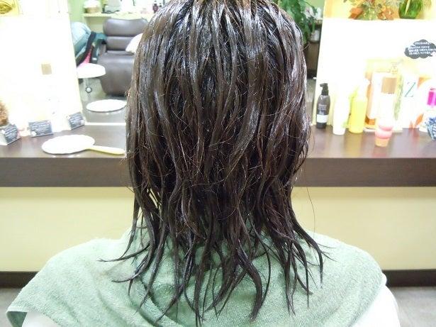 ミコノス縮毛矯正+カラー1