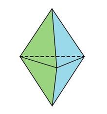 双三角錐 - Triangular bipyrami...