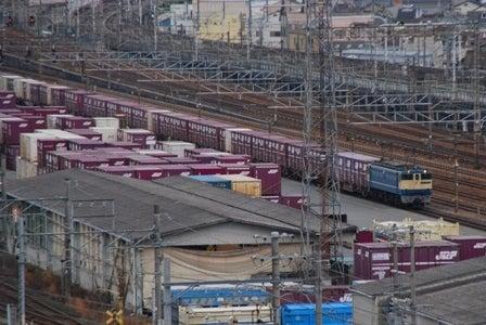5087、京都貨物駅到着・・・・・・。   gon's time tunnel バカコロナ ...