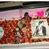 特大バースデーケーキ IN 大阪、心斎橋の画像