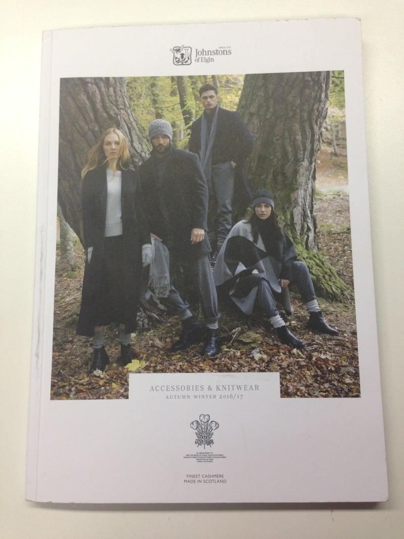 ジョンストンズ2016-2017AW(秋冬)新作カタログ