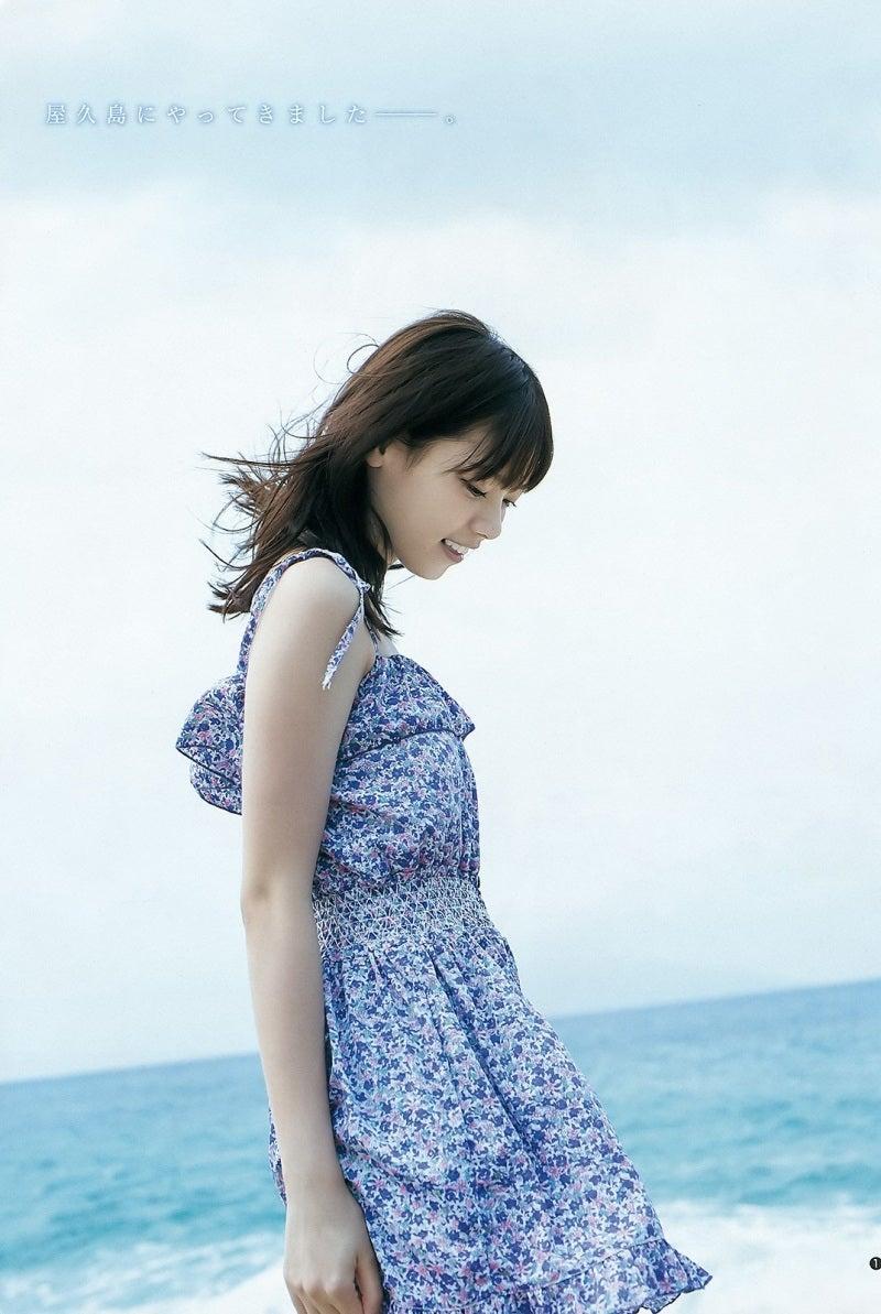 西野七瀬さんの水着
