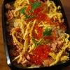 海鮮チラシ弁当とチーズ肉巻き弁当~テーブルフェス~コーディネートコンテスト編の画像