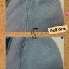 服の日のリフォーム 虫穴修理の画像