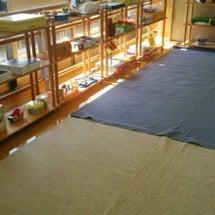 おもちゃ図書館準備完…
