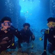 沖縄 青の洞窟【沖縄…