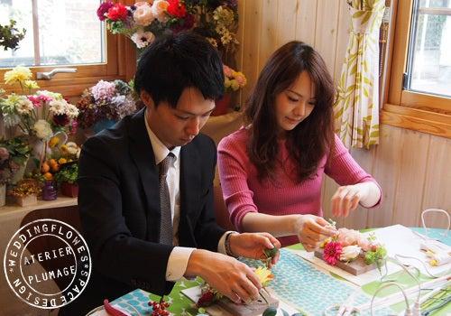 東京文京区両親贈呈花フラワー手作りレッスン