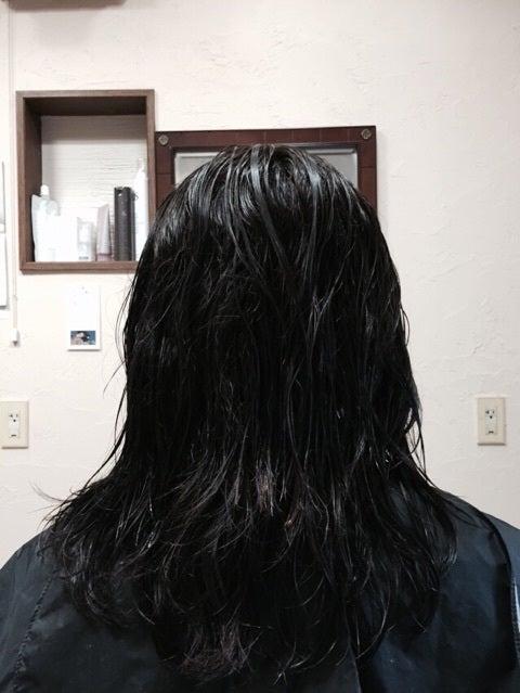 ミコノス縮毛矯正1