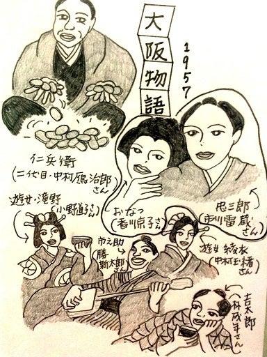 ゆうべ見た映画大阪物語 (1957)大映 ★