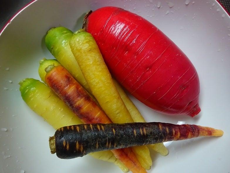 カラフル根野菜