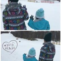 暖冬のスキー場☆
