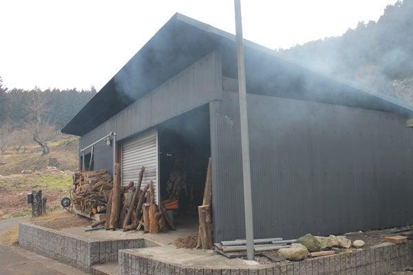 小室かな料紙工房 釜の小屋