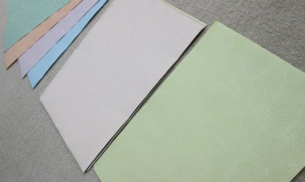 小室かな料紙のかな料紙 草木染
