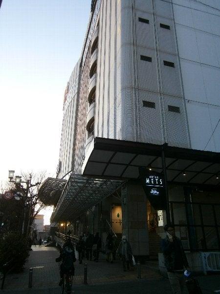 駅ビルとホテル