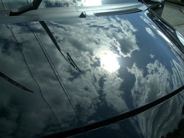 シャンプー洗車とカークリーナーで整えたボディ