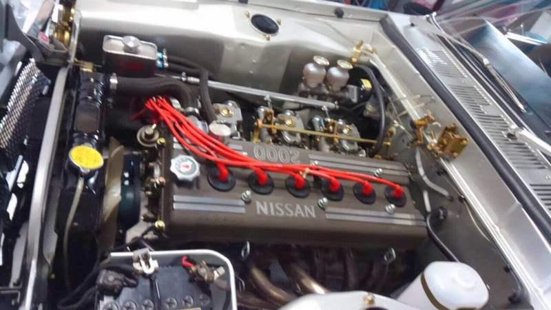 DOHC  ウェーバー 3連 エンジン