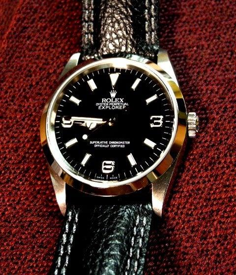 watch 0f67a 60201 腕時計遍歴39(ロレックス・エクスプローラーⅠ 114270) -革 ...