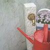 おしゃれな立水栓 アポアの画像