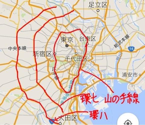 パリと東京の街の大きさ、リアル...