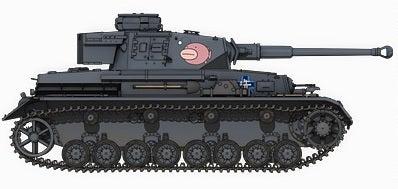 ガルパン‗Ⅳ号戦車‗足目